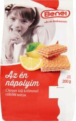 Benei Citrom Ízű Krémmel Töltött Ostya (200g)