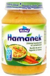 Hamé Hamánek Zöldség kuszkusszal és csirkehússal (gluténtartalmú) 10 hónapos kortól - 190g