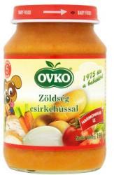 OVKO Zöldség csirkehússal 5 hónapos kortól - 190g