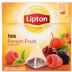 Lipton Forest Fusion Erdei Gyümülcs Ízű Fekete Tea 20 filter