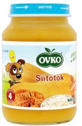 OVKO Sütőtök bébiétel 4 hónapos kortól - 190g