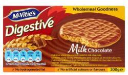 McVitie's Digestive Keksz Teljes Kiőrlésű Búzaliszttel Tejcsokoládé Bevonattal (200g)