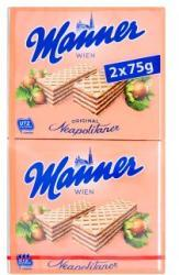 Manner Mogyorós Ostya (2x75g)