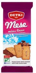 DETKI Mese Mézes Linzer Kakaós Tejbevonómasszával Félig Mártva (200g)