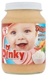 Dinky Pulykahús zöldséggel és rizzsel 7 hónapos kortól - 190g