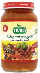 OVKO Bolognai spagetti marhahússal (gluténtartalmú) 8 hónapos kortól - 220g