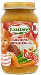 Univer Zöldborsós marharagu rizzsel 10 hónapos kortól - 220g