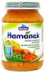 Hamé Hamánek Zöldség csirkehússal és tésztával 10 hónapos kortól - 190g