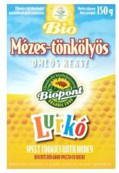 Biopont Lurkó Bio Mézes-Tönkölyös Omlós Keksz (150g)
