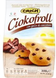 CRICH Ciokofroll Édes Omlós Keksz Csokoládécseppekkel (300g)