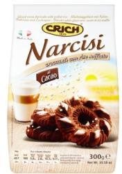 CRICH Narcisi Kakaós Édes Keksz Puffasztott Rizzsel (300g)