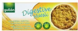 gullón Digestive Müzli Keksz Zabpehellyel Mazsolával Sárgabarackkal És Szójával (365g)