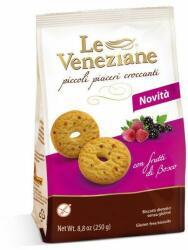 Le Veneziane Gluténmentes Erdei Gyümölcsös Keksz (250g)