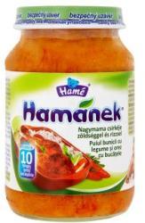 Hamé Hamánek Csirke zöldséggel és rizzsel 10 hónapos kortól - 190g