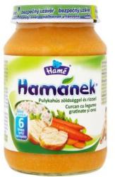Hamé Hamánek Pulyka zöldséggel és rizzsel 6 hónapos kortól - 190g