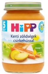 HiPP Kerti zöldségek csirkehússal 5 hónapos kortól - 190g