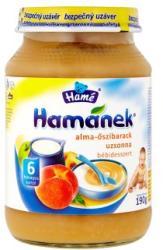 Hamé Hamánek Alma-őszibarack uzsonna (gluténmentes) 6 hónapos kortól - 190g