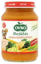 OVKO Borjúhús sárgarépafőzelékkel 6 hónapos kortól - 190g
