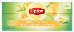 Lipton Green Tea Zöld Tea Citrus Ízesítés 25 filter