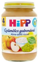 HiPP Alma-szőlő rizzsel 4 hónapos kortól - 190g