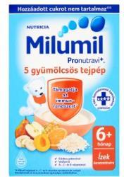 Milumil 5 gyümölcsös tejpép 6 hónapos kortól - 225g