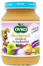 OVKO Őszibarack almával és joghurttal 5 hónapos kortól - 190g