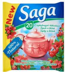 Saga Csipkebogyó-hibiszkusz 20 filter