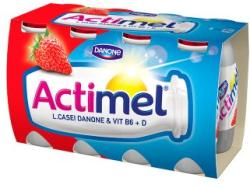 Danone Actimel élőflórás joghurtital 8 x 100g