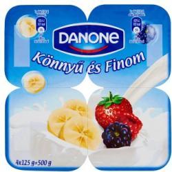Danone Könnyű és Finom gyümölcsjoghurt 4x125g