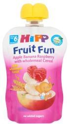 HiPP Gyümölcsvarázs Alma-banán-málna gyümölcspép gabonával 6 hónapos kortól - 90g