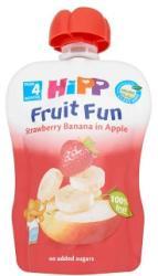 HiPP Gyümölcsvarázs Eper-banán-alma gyümölcspép 4 hónapos kortól - 90g