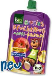 Bio Zentrale Biokids 100%-os alma-banán gyümölcspüré - 90g