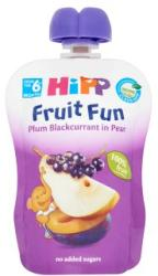 HiPP Gyümölcsvarázs Szilva-feketeribizli-körte gyümölcspép 6 hónapos kortól - 90g