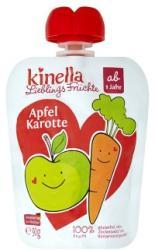 Kinella Früchtchen Alma-sárgarépa gyümölcspüré zöldséggel 12 hónapos kortól - 90g