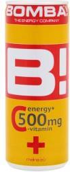 Bomba! C-vitamin tartalmú málna-citrom ízű energiaital 250ml