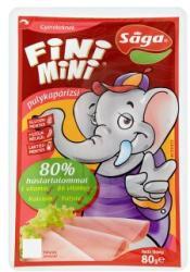 Sága Fini Mini Pulykapárizsi Gyerekeknek Hozzáadott Vitaminokkal És Kalciummal (80g)