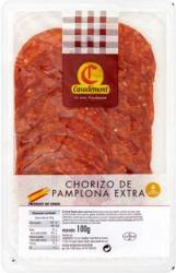 Casademont Chorizo De Pamplona Extra Spanyol Pikáns Gluténmentes Paprikás Kolbász (100g)
