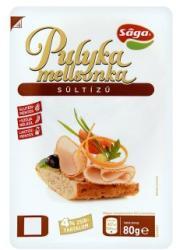 Sága Sültízű Pulyka Mellsonka (80g)