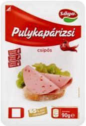 Sága Csípős Szeletelt Pulykapárizsi (90g)