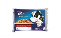 FELIX Fantastic Beef & Chicken 4x100g