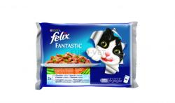 FELIX Fantastic Selection Fish & Vegetables 4x100g