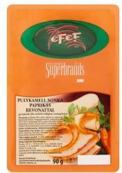eFeF Szeletelt Pulykamell Sonka Paprikás Bevonattal (90g)