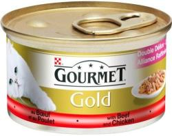Gourmet Gold Beef & Chicken 85g
