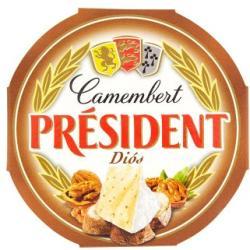 PRÉSIDENT Diós Camembert Sajt (120g)