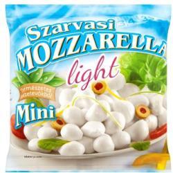 Szarvasi Light Mini Mozzarella Csökkentett Zsírtartalmú Sajt (200g)