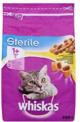 Whiskas Sterile Dry Food 950g