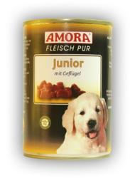 Amora Fleisch Pur Junior - Chicken 18x400g