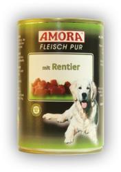 Amora Fleisch Pur - Reindeer 18x400g