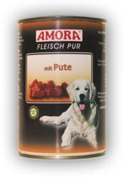 Amora Fleisch Pur - Turkey 6x400g