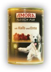 Amora Fleisch Pur - Veal & Duck 6x400g